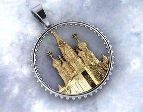 St Basils Cathedral 3D printable model