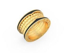 Ring Zero Enamel Version Ring Size 16-5mm 3D print model