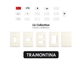 3D model outlet Tramontina Liz Collection Beige