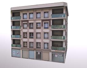 3D asset Architectural Building