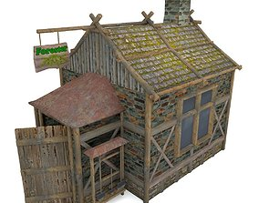 3D model House Of The Forester