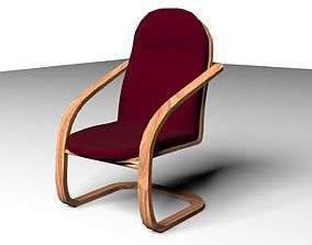 Lazy Chair 1 3D model