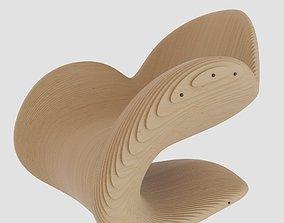 Parametric Chair 3D model chair
