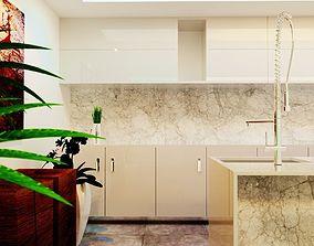 Interior Design Kitchen 3D print model