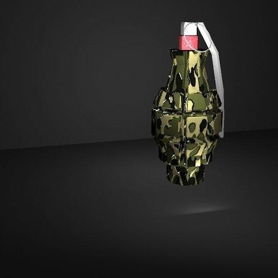 camouflage grenade