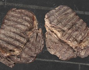 Beef steak 3D model scanned