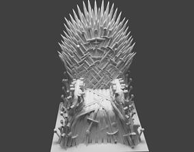 3D print model Iron throne