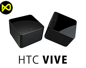 HCT Vive Base Stations 3D model