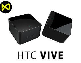 HCT Vive Base Stations 3D model