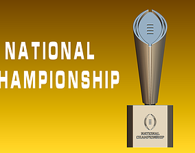 College Football Playoff National 3D printable model 1
