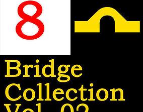 3D model 8 Huge Bridge