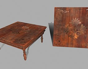Table 3D model realtime article