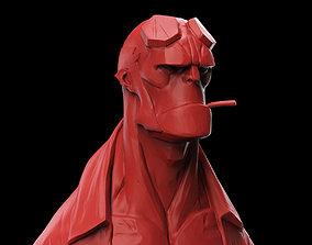3D print model Hellboy Bust geek
