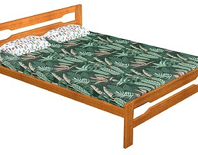 3D model game-ready Bed 6