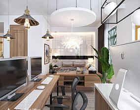 Construct Office 3D Scene
