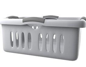 3D model Laundry Basket tub