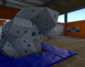 Climbing Hall Environment Pack 3D asset VR / AR ready