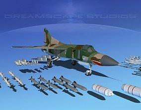 Mig 23 Flogger B V06 Russia 3D