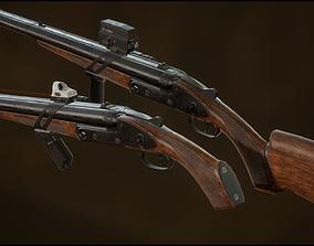 Advanced Weapon Pack 3D asset