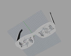 Glow in the dark dragon fashion glasses 3D print model