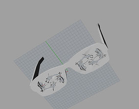 Glow in the dark dragon fashion glasses 3D print model