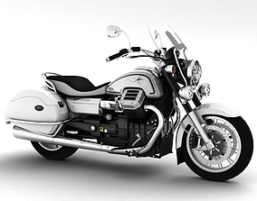 Moto Guzzi 1400 California Touring 2013 3D model