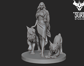 figure 3D printable model Freya
