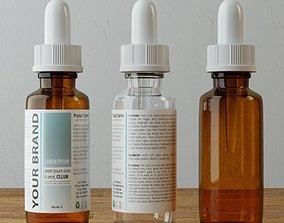 Dropper Bottle 3D medical