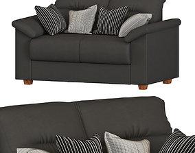 3D model IKEA KNISLINGE 2 SEAT SOFA