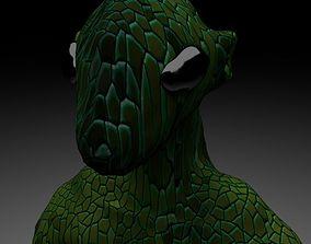 3D model Alien Reptile 1 - Material c