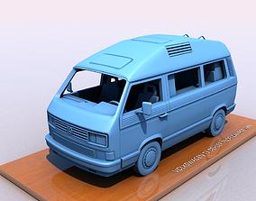 3D print model VOLKSWAGEN T3 DEHLER PROFI CAMPER 1989