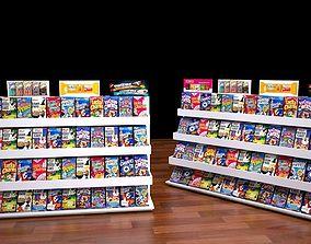 shop rack 3 3D asset