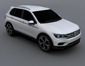 2017 Volkswagen Tiguan Allspace 3D model