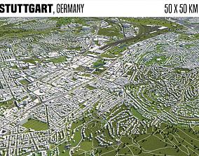 3D model Stuttgart Germany