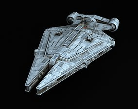 Star Wars Arquitens-class Light Cruiser 3D model