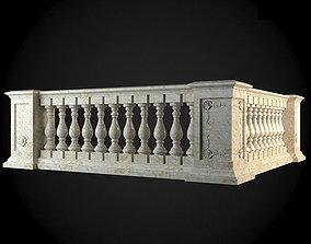 3D model newel Baluster