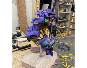 EVA 01 - Evangelion Bust STL 3D printable model