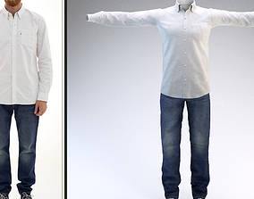 clothes for the character look2 3D asset