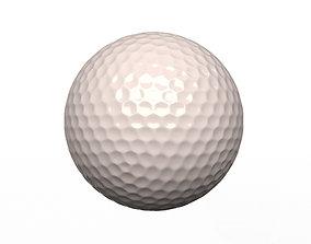 3D asset Golf Ball Generic