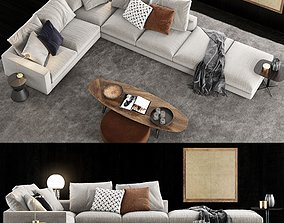 3D Minotti Andersen Line Sofa 1