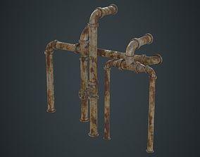 3D model Industrial Pipes 2D