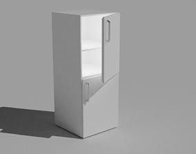 3D asset FREE Fridge