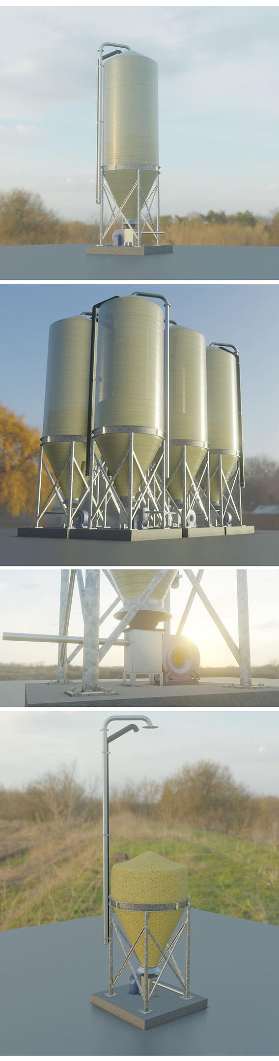 Corn Silo (Version-1 PVC Container)