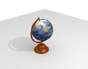 Simple Globe 3D asset