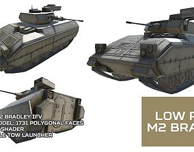 3D model Low Poly M2 Bradley