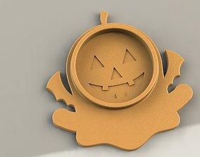 Halloween Coaster 3D printable model