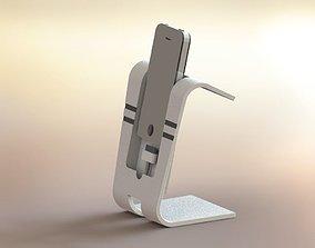 3D model iPhone docking station