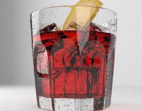 Campari Drink 3D
