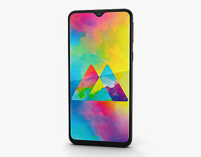 Samsung Galaxy M20 Charcoal Black 3D