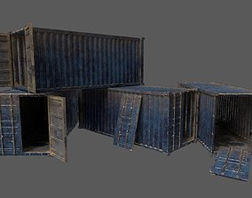 Military Container Pack 3D model realtime